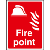 Fire Point - Photo (photo. Rigid Plastic,200 X 150mm)