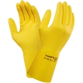 Ansell 87-190 Econohand Natural Rubber Latex Yellow Glove