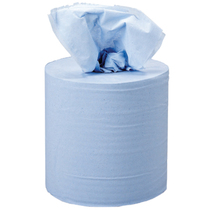 2 Ply Centerfeed Rolls - Blue