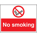 No Smoking (Rigid Plastic,400 X 300mm)