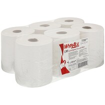 7256 Wypall L10 Wiping Paper White (6 Rolls X 800 Sheets)