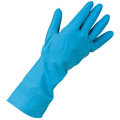 KeepCLEAN Rubber Household Gloves Blue