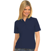 UC106 Navy Ladies Pique Polo Shirt