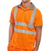 Hi-Vis Orange Polo Shirt