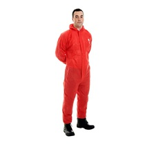 Supertex SMS Type 5/6 Coverall Red