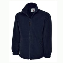UC601 Premium Heavy Duty Fleece Jacket 380gsm - Navy 658054