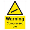 Compressed Gas (Rigid Plastic,400 X 300mm)