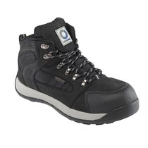 Eurotec Black Safety Hiker Boot - S3