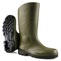 Dunlop Devon Green Full Safety Wellington - S5