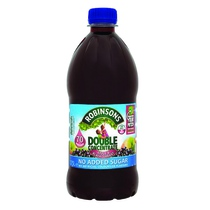SQUASH NO ADDED SUGAR APPLE & BLACKCURRANT 1.75LTR