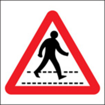 Pedestrian Crossing (Rigid Plastic,400 X 400mm)