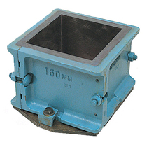 Mould Test Cube c/w Clamp Base 100mm x 100 mm