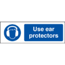 Use Ear Protectors (Rigid Plastic,400 X 300mm)