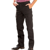 UC903 Black Action Trousers - Reg Leg