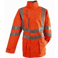 Pulsar PR499 Hi-Vis Orange Unlined Jacket