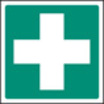 First Aid Symbol (Self Adhesive Vinyl,100 X 100mm)