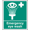 Emergency Eye Wash (Rigid Plastic,300 X 250mm)