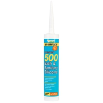 Everflex 500 Bath & Sanitary Silicone - White 310ml