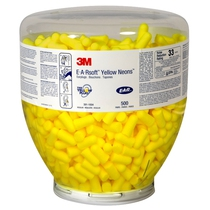 3M E-A-R Earsoft Yellow Neon Earplugs Refill Bottle