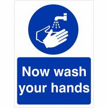 MAG.04W Now Wash Your Hands 150MM x 200MM