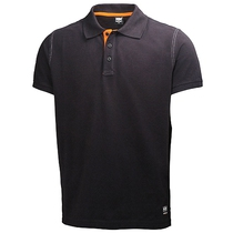 Helly Hansen 79025-990 Oxford  Polo Shirt - Black