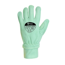 Granite 5 Beta Leather Glove Green