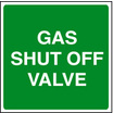 Gas Shut Off Valve (Rigid Plastic,100 X 100mm)