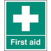 First Aid (Self Adhesive Vinyl,300 X 250mm) (26002H)