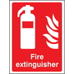 Fire Extinguisher (photo. Self Adhesive Vinyl,200 X 150mm)
